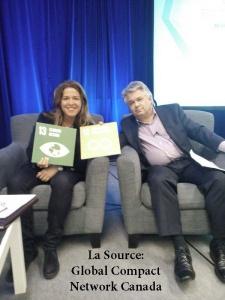 Susy Torriente et Blair Feltmate à Globe (mars 2016)