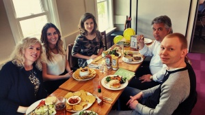 Intact Centre Team having a Birthday Lunch