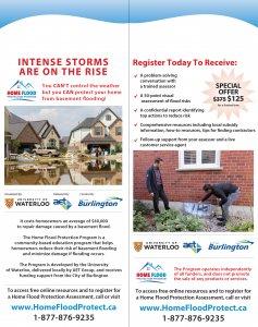 Home Flood Protection Program flyer