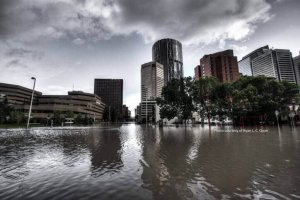 Corporate buildings Flooded After 2013 Flooding in downtown Calgary