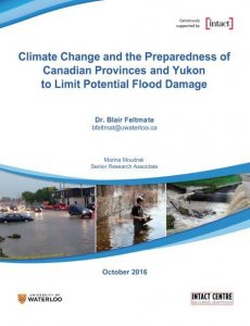 Front Cover of Climate Change Preparedness of Provinces Report