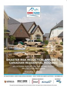 Home Flood Protection Program Cover Page of the interim report