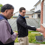 Zafar participating in Home Flood Protection Assessment