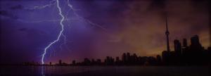 Toronto Lightening Storm