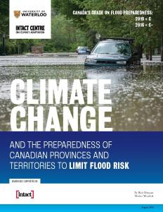 Climate Change and the Preparedness of Canadian Provinces and Territories to Limit Flood Risk
