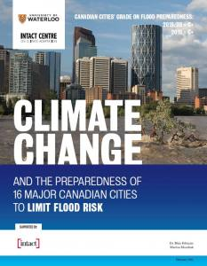 Climate Change and the Preparedness of 16 Major Canadian Cities to Limit Flood Risk