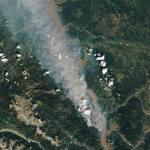 The McKay Creek fire in British Columbia