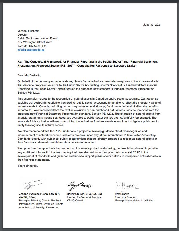 PSAB Joint Response Letter